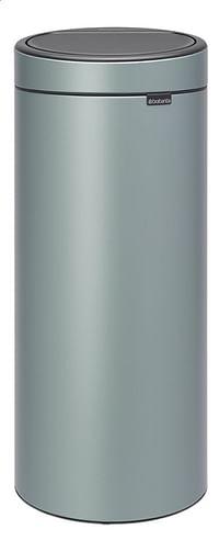 Brabantia Afvalemmer Touch Bin New metallic mint 30 l-Brabantia