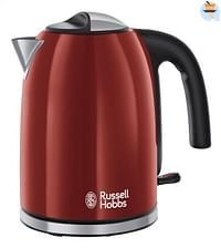 Russell Hobbs Waterkoker Colours Plus flame red-Russell Hobbs