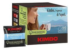 Kimbo Koffiepods Decaffeinato deca 7 g - 100 stuks