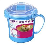 Sistema Soepbeker Microwave Colour Medium Soup blue 656 ml-Sistema
