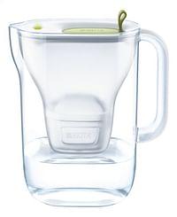 Brita Waterfilter bundel Style cool lime 2,4 l met 3 Maxtra+ filterpatronen-Brita