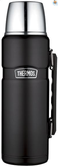 Thermos Isoleerkan King zwart 1,2 l-Thermos