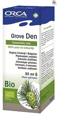 Orca Bio etherische olie grove den 30 ml-Orca