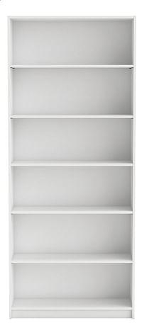 Demeyere Meubles Boekenkast Blanco wit decor B 80 cm-Demeyere Meubles