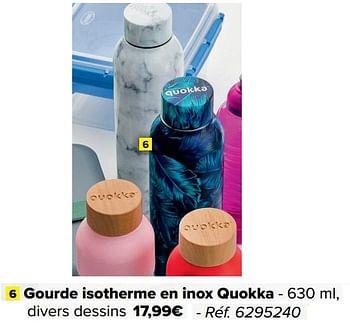 Croissant promotion Carrefour: Gourde isotherme en inox quokka - Produit MK-67