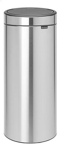 Brabantia Afvalemmer Touch Bin New matt steel 30 l-Brabantia