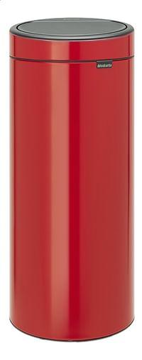 Brabantia Afvalemmer Touch Bin New passion red 30 l-Brabantia