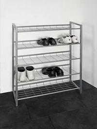 Haku-Möbel Schoenenrek Jupp steel 20 paar schoenen-Haku-Möbel