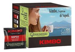 Kimbo Koffiepods Napoli 7 g - 100 stuks