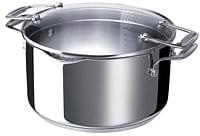 Beka Cookware pasta- en groentekoker Chef Pratique 24 cm - 4 l-Beka Cookware