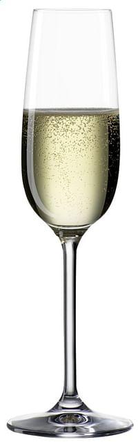 Bohemia Cristal 6 champagneglazen Clara 19 cl-Bohemia Cristal