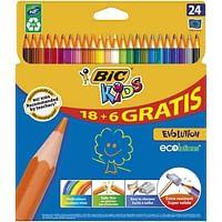 Bic Kids Evolution 18+6 GRATIS-BIC