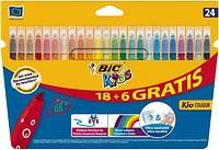 Bic Kids Kid Couleur 18+6 GRATIS-BIC