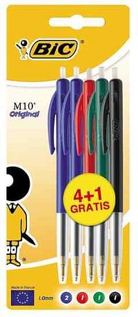 Bic M10 assortie 4+1 GRATIS-BIC