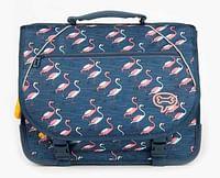 Stones & Bones Flamingos Lily schooltas-Stones and Bones