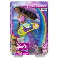 Barbie Dreamtopia zwemmende zeemeermin brunette-Barbie