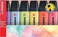 Stabilo Boss Original pastel etui 6st (new colors)-Stabilo
