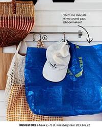 Kungsfors s-haak-Huismerk - Ikea