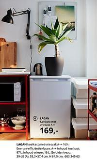 Lagan koelkast met vriesvak a++-Huismerk - Ikea