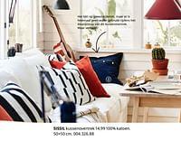 Sissil kussenovertrek-Huismerk - Ikea