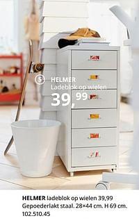 Helmer ladeblok op wielen-Huismerk - Ikea