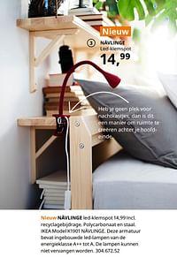 Nävlinge led-klemspot-Huismerk - Ikea