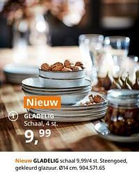 Gladelig schaal-Huismerk - Ikea