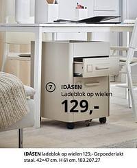 Idåsen ladeblok op wielen-Huismerk - Ikea