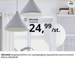 Nävlinge hanglamp
