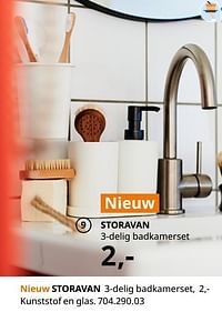 Storavan 3-delig badkamerset-Huismerk - Ikea