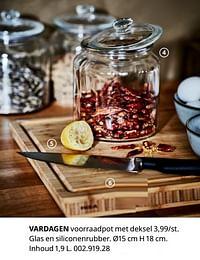 Vardagen voorraadpot met deksel-Huismerk - Ikea