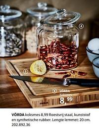 Vörda koksmes-Huismerk - Ikea