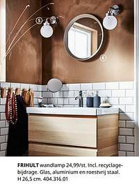 Frihult wandlamp-Huismerk - Ikea