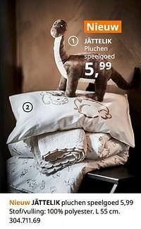 Jättelik pluchen speelgoed-Huismerk - Ikea