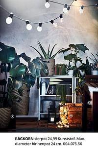 Rågkorn sierpot-Huismerk - Ikea