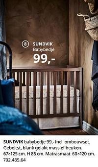 Sundvik babybedje-Huismerk - Ikea