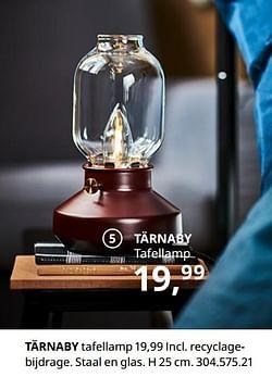 Tärnaby tafellamp