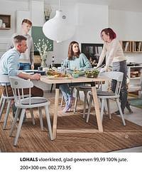 Lohals vloerkleed, glad geweven-Huismerk - Ikea