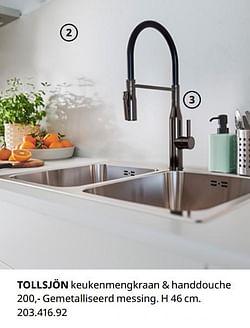 Tollsjön keukenmengkraan + handdouche