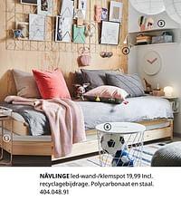 Nävlinge led-wand--klemspot-Huismerk - Ikea