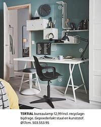 Tertial bureaulamp-Huismerk - Ikea