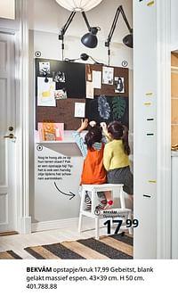Bekväm opstapje-kruk-Huismerk - Ikea