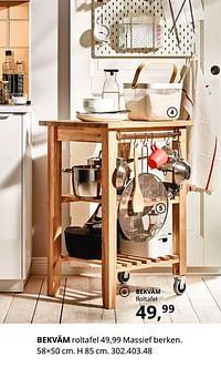 Bekväm roltafel-Huismerk - Ikea