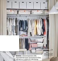 Boaxel 1 element-planken-Huismerk - Ikea