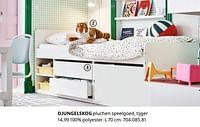 Djungelskog pluchen speelgoed, tijger-Huismerk - Ikea
