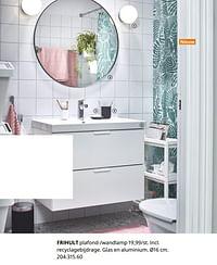 Frihult plafond--wandlamp-Huismerk - Ikea