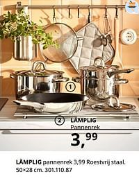 Lämplig pannenrek-Huismerk - Ikea