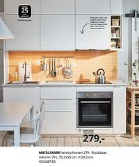 Matälskare heteluchtoven-Huismerk - Ikea