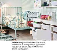 Minnen meegroeibed-Huismerk - Ikea