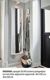 NISSEDAL spiegel-Huismerk - Ikea